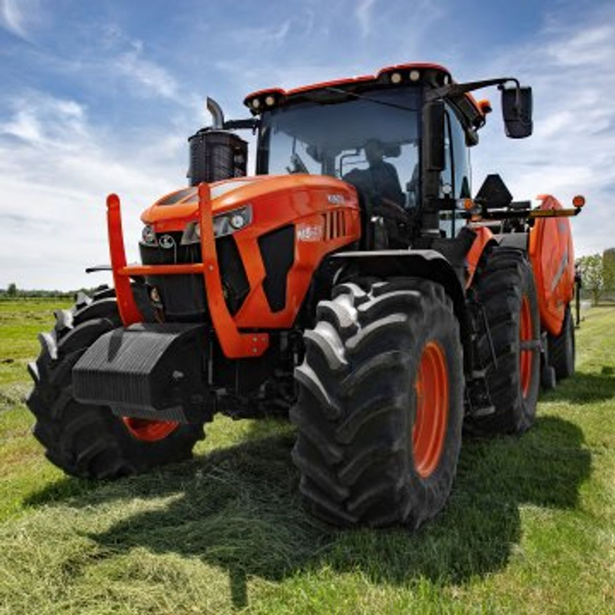 A Look at the New Kubota M8 Tractor