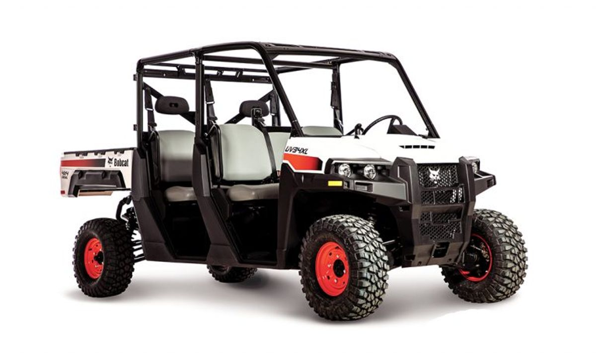 Bobcat Introduces Two New Utility Vehicles