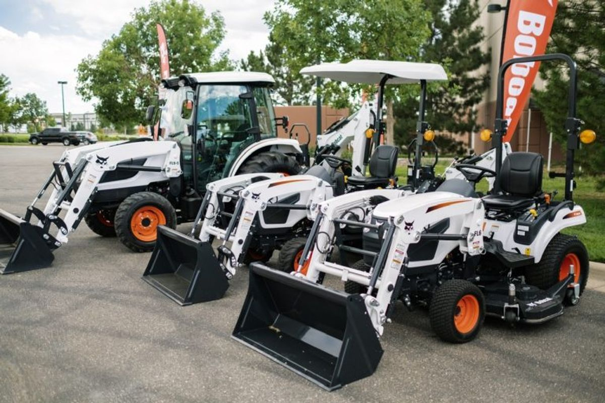 Bobcat is Back in the Tractor Business with New Lineup of Compact Models