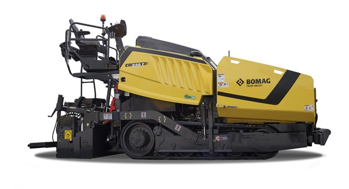 Bomag Packs New Updates Into its 2.4 Metre Pavers