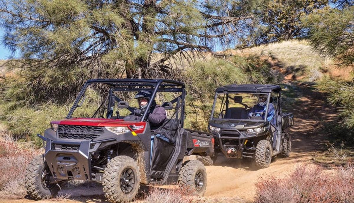 Can-Am Defender HD8 Vs. Polaris Ranger 1000
