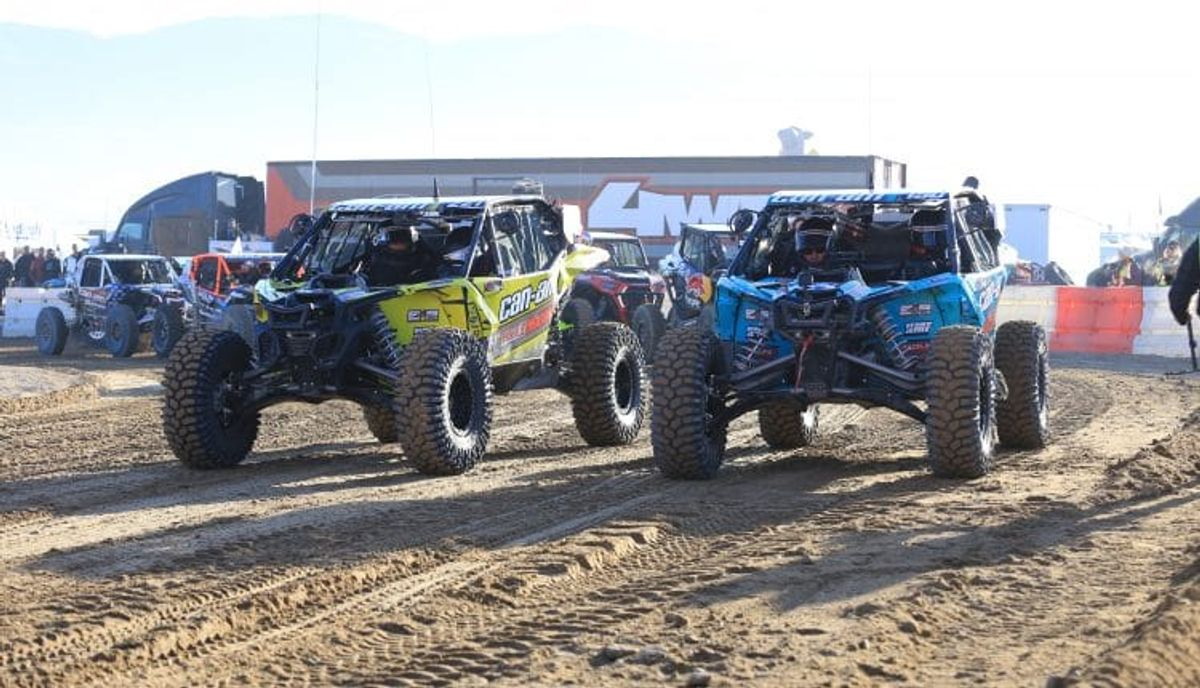 Can-Am Sweeps King of Hammers Podium
