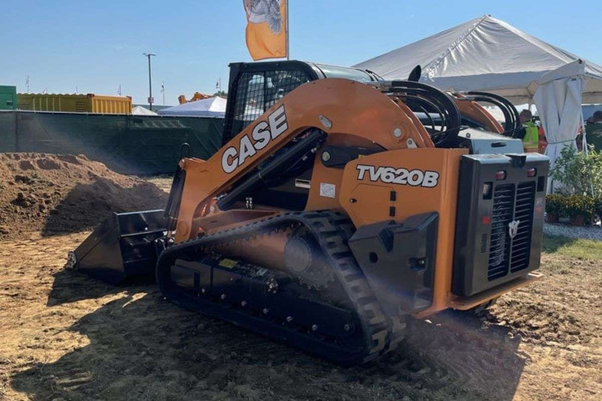 Case Unleashes Industry's Largest Compact Track Loader, the TV620B