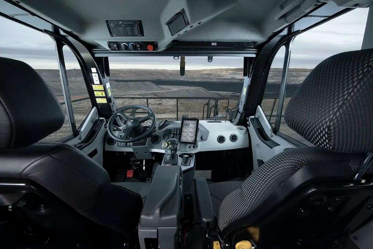 Cat Unveils Next-Gen Mining Truck Cab