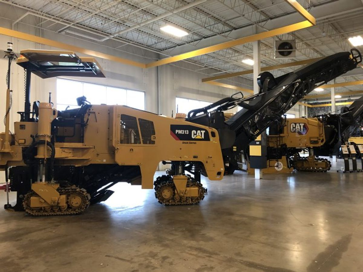 Cat Updates Cold Planers with Power Boost, New Features to Improve Operation