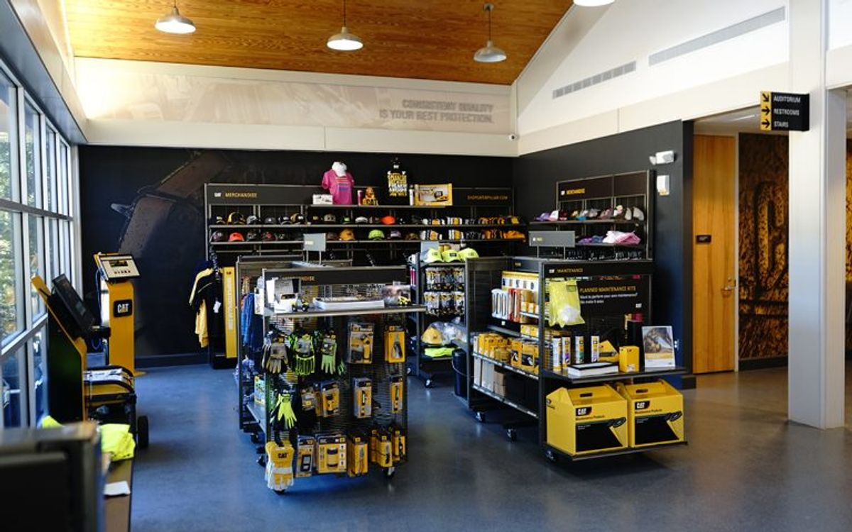 Caterpillar is Redefining its BCP Retail Experience in North America