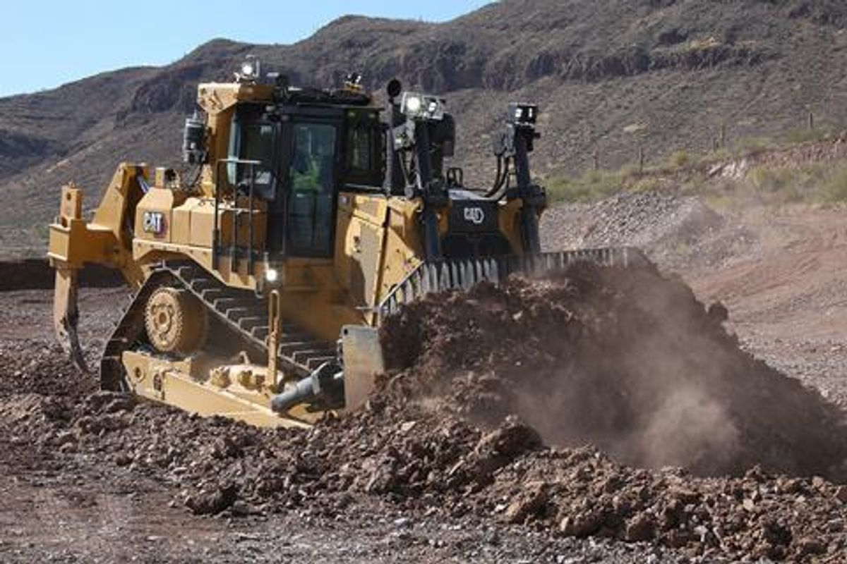 Cat's New D9 Dozer Designed to Lower Operating Costs
