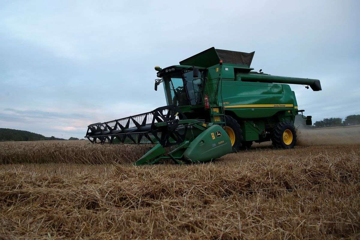 Deere Expects More Machinery Sales as Crop Prices Rise