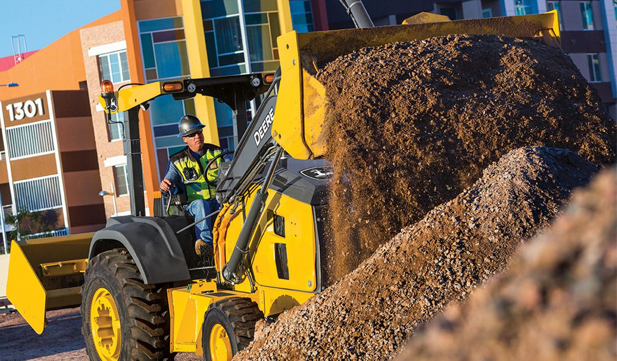 Deere's L-Series Tractor Loaders Are Now Grade Control-Ready