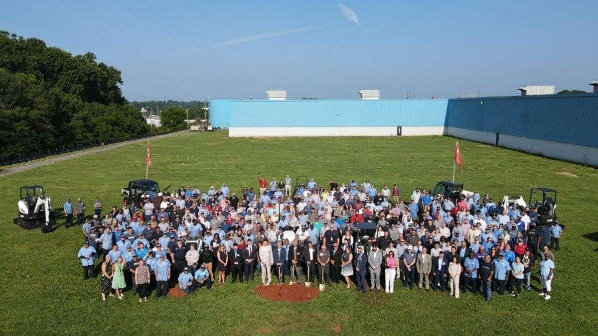 Doosan Bobcat Breaks Ground On $70 Million Manufacturing Campus