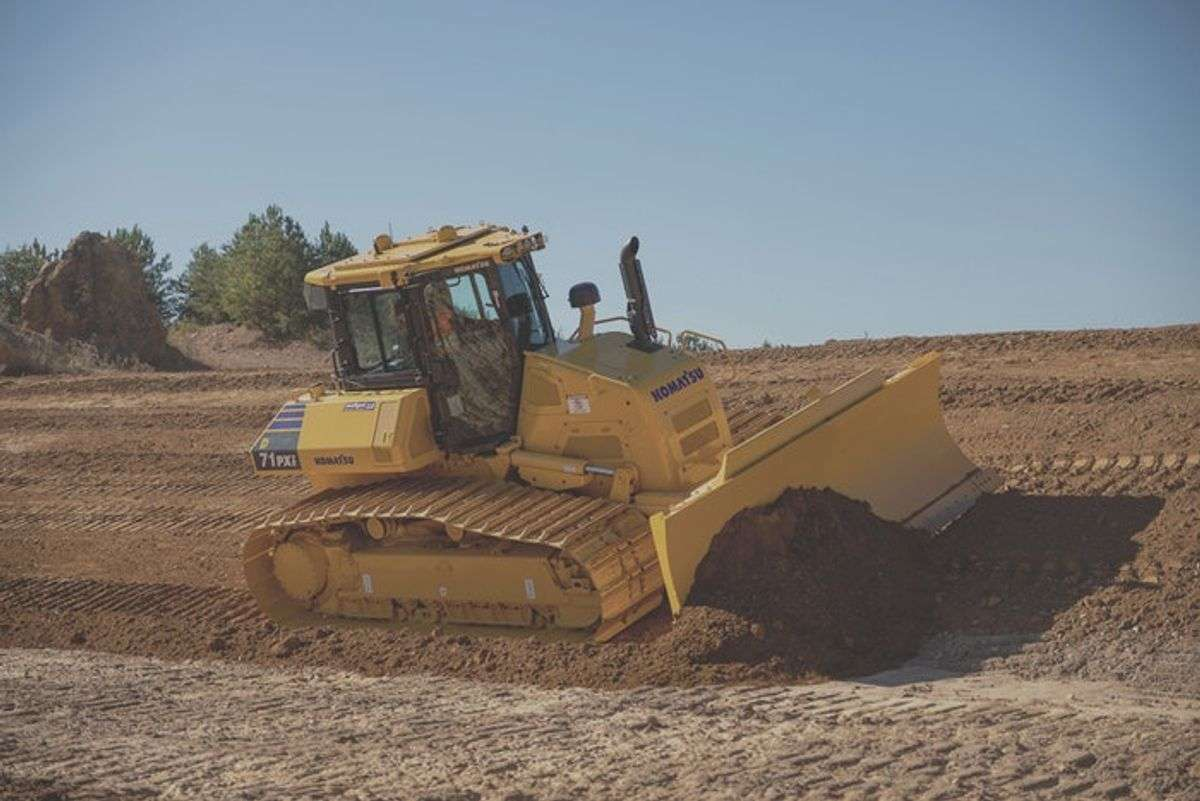 Dozers Decked Out With Tech: Pushing Dirt Is Getting Easier
