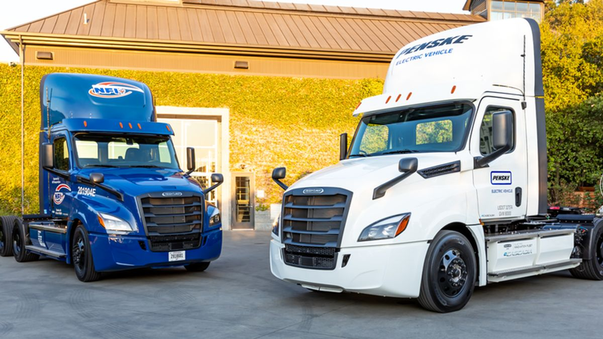 Freightliner EV Trucks Log First 300,000 Miles