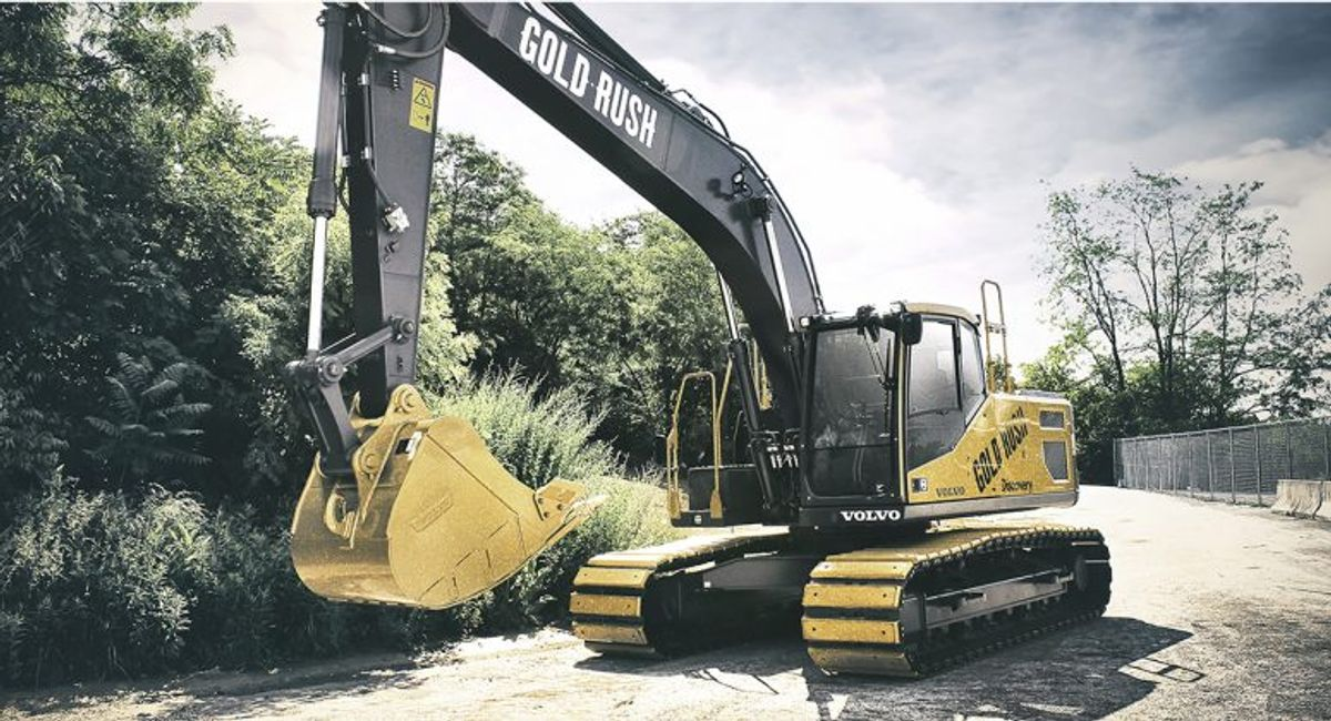 Gold Rush Excavator Heads to Auction for Charity