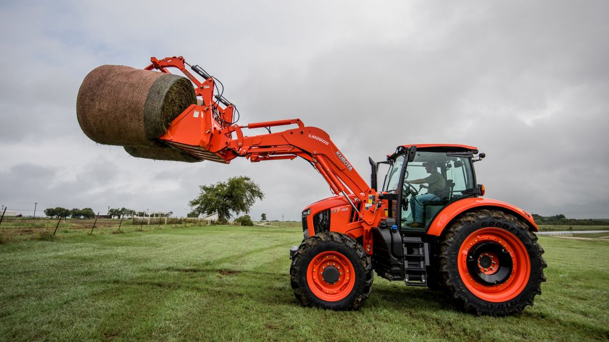 Goodyear LSW Tires Now Available for Kubota M7 Series Tractors