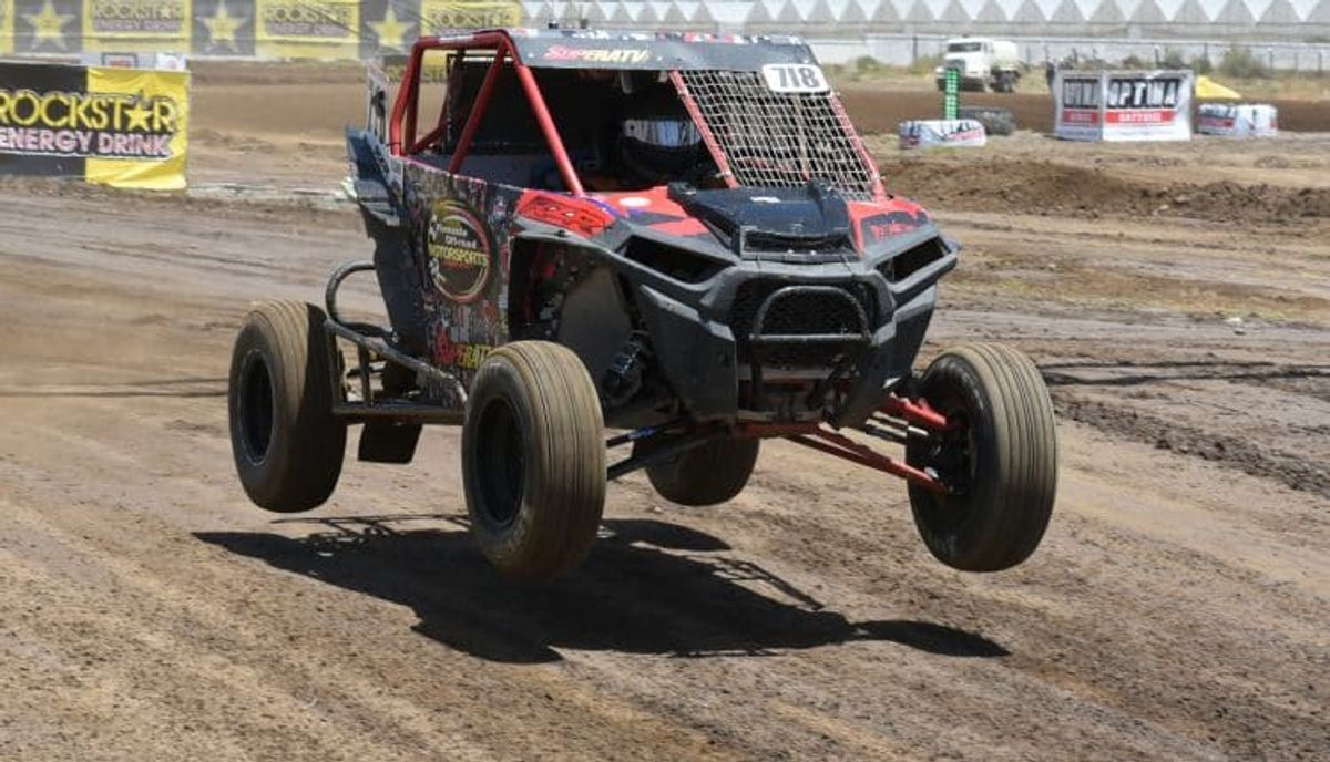 Haugen and Polaris Dominate Chandler Lucas Oil