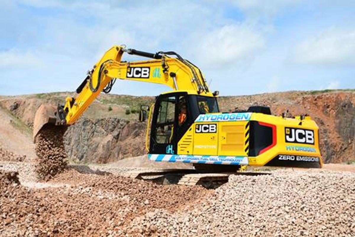 JCB's Hydrogen Powered Excavator