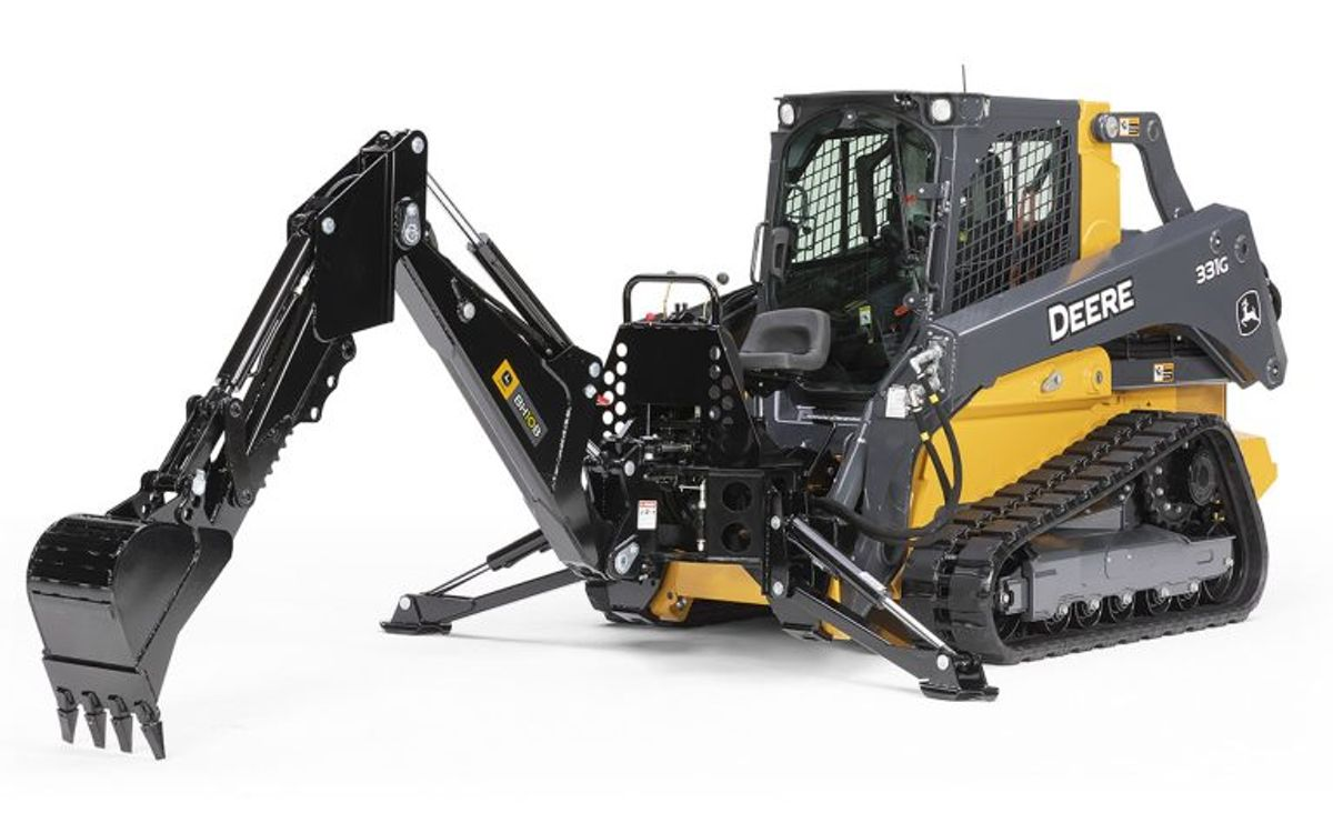 John Deere Adds Backhoe Attachments to its Product Lineup