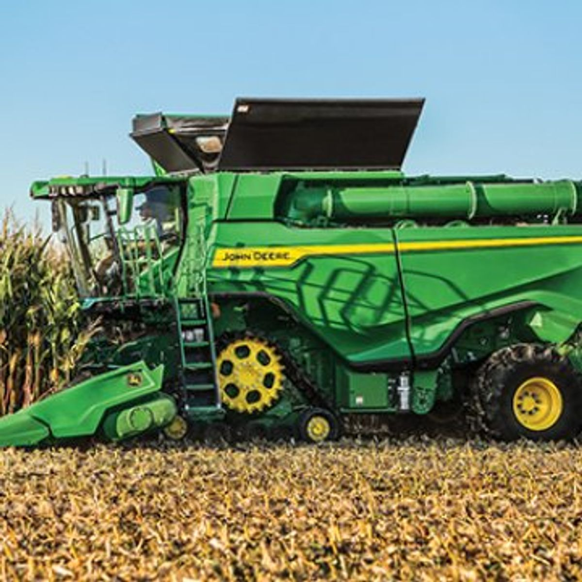 John Deere Add Two New Models To Its X Series Combine Line Up
