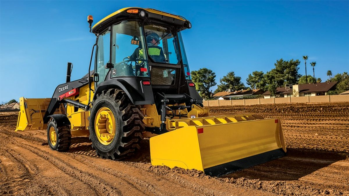 John Deere Launches Industry-First Grade Control-Ready Offerings For Tractor Loaders