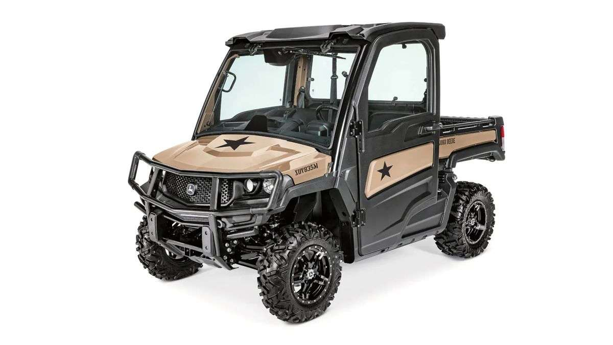 John Deere Pays Tribute To Veterans With Gator XUV Honor Edition