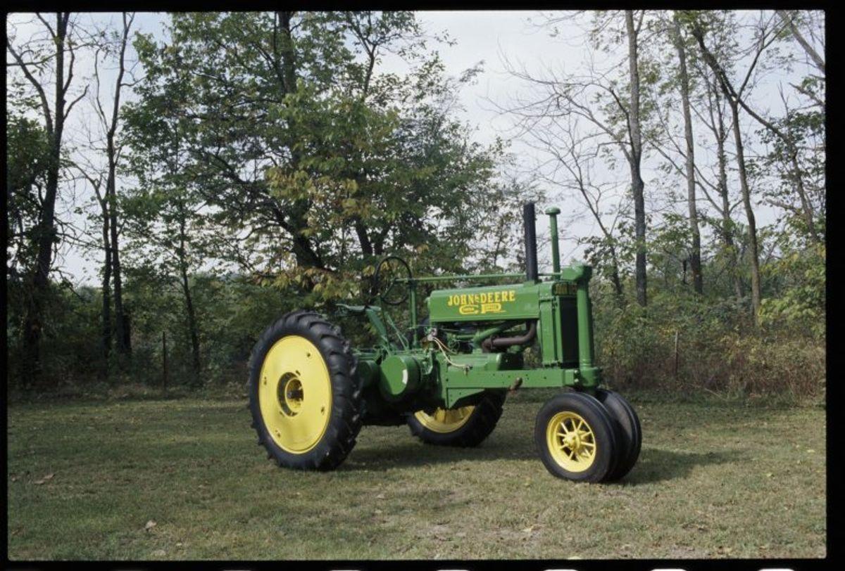 John Deere's Catch-Up Tractor