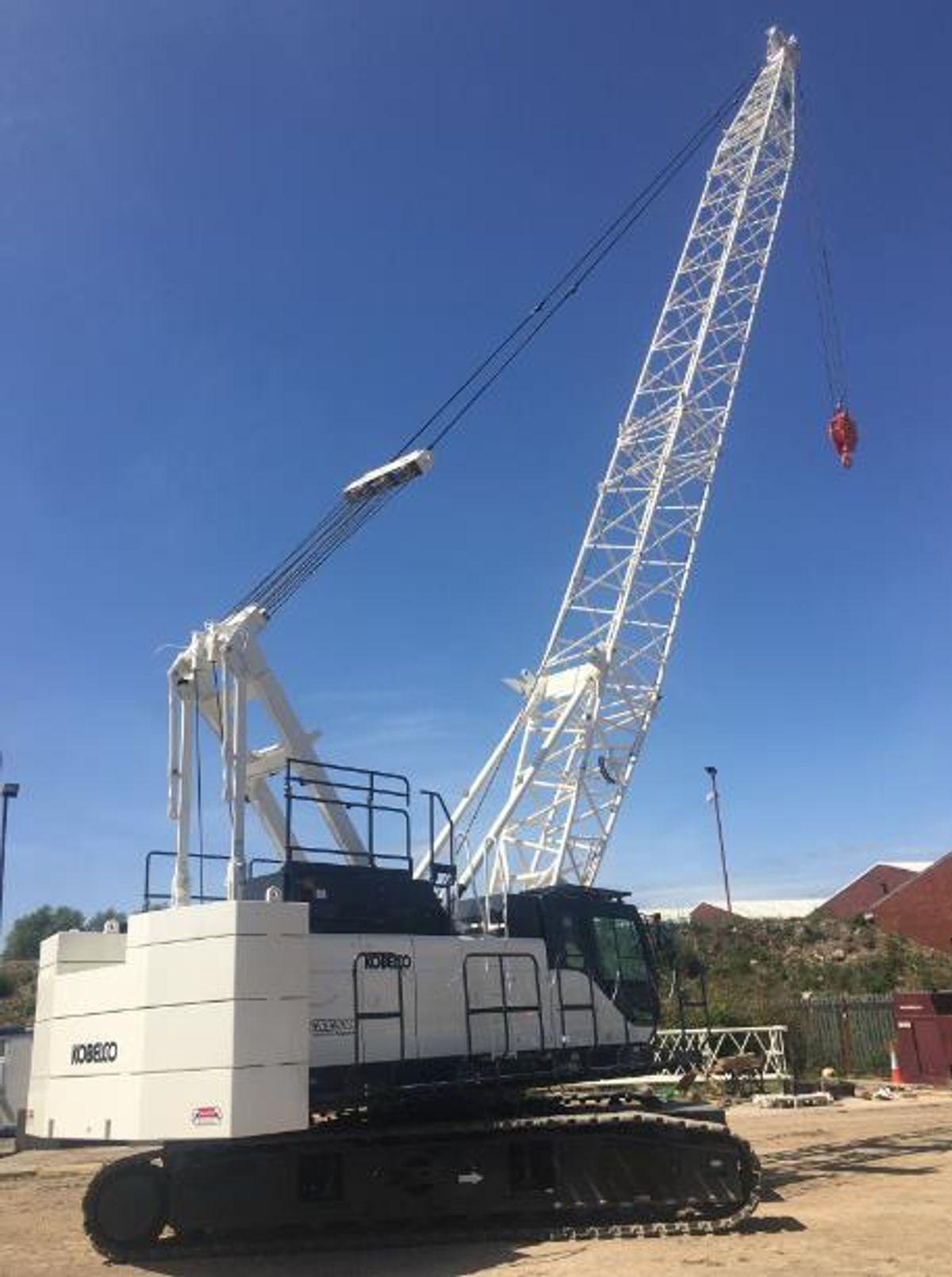 Kobelco Crawler Deployed On Dublin 2 Development