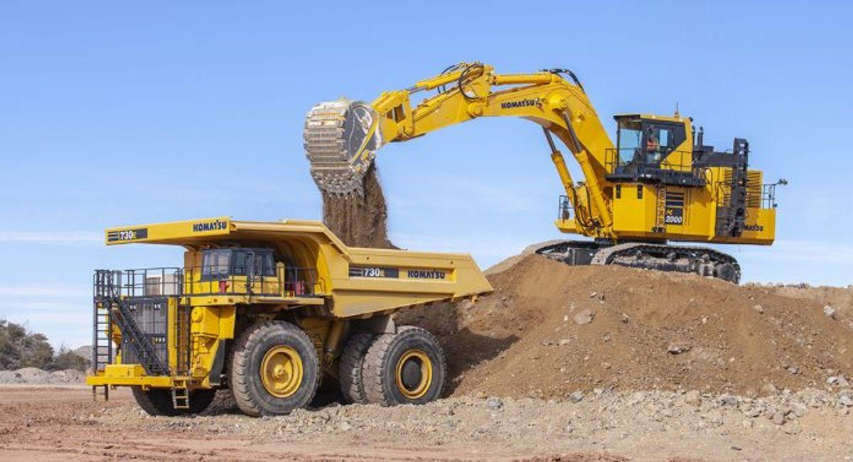 Komatsu Launches the PC2000-11 Hydraulic Excavator