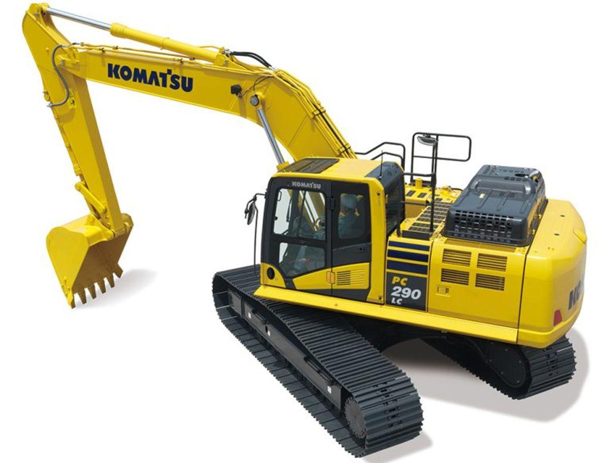 Komatsu's New Excavator Promises First-to-Last-Pass Accuracy
