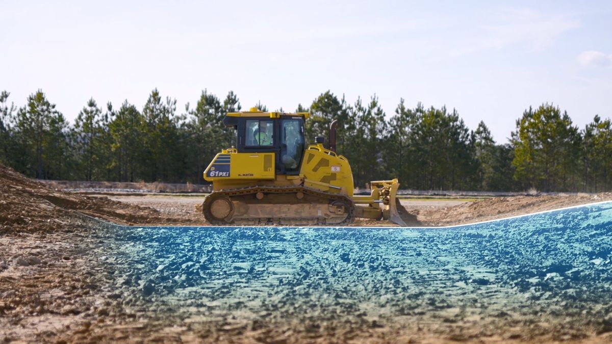 Komatsu's Proactive Dozing Control Logic is Integrated 100 Percent of the Time for Boost in Productivity