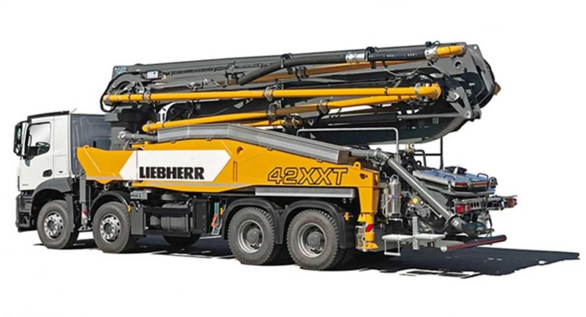 Liebherr to Launch Concrete Pump and Hydraulic Drive at World of Concrete