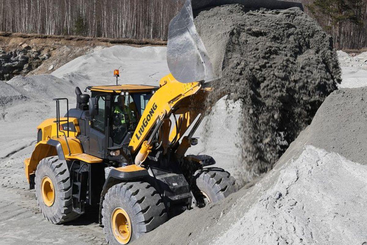 LiuGong Introduces New High Production Wheel Loader