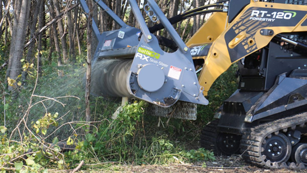 Loftness S-Series Battle Ax Mulching Head