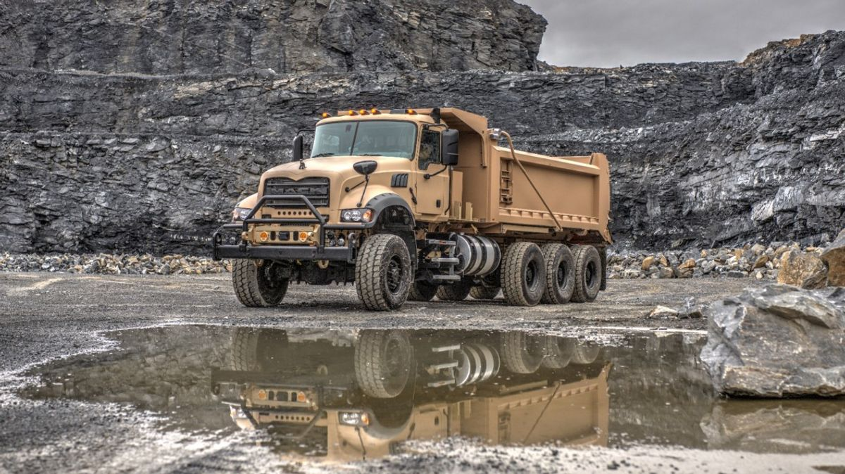 Mack Defense and Crysteel Manufacturing Partner on Heavy Dump Trucks for the U.S. Army