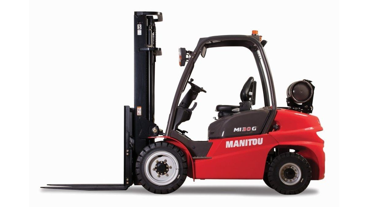 Manitou Introduces Dual Fuel Option For Industrial Forklifts