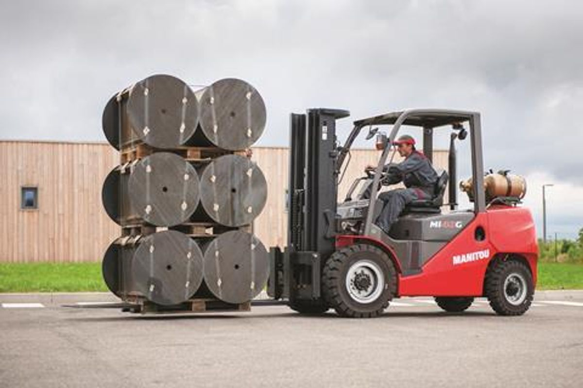 Manitou's Introduces Three Industrial Forklifts