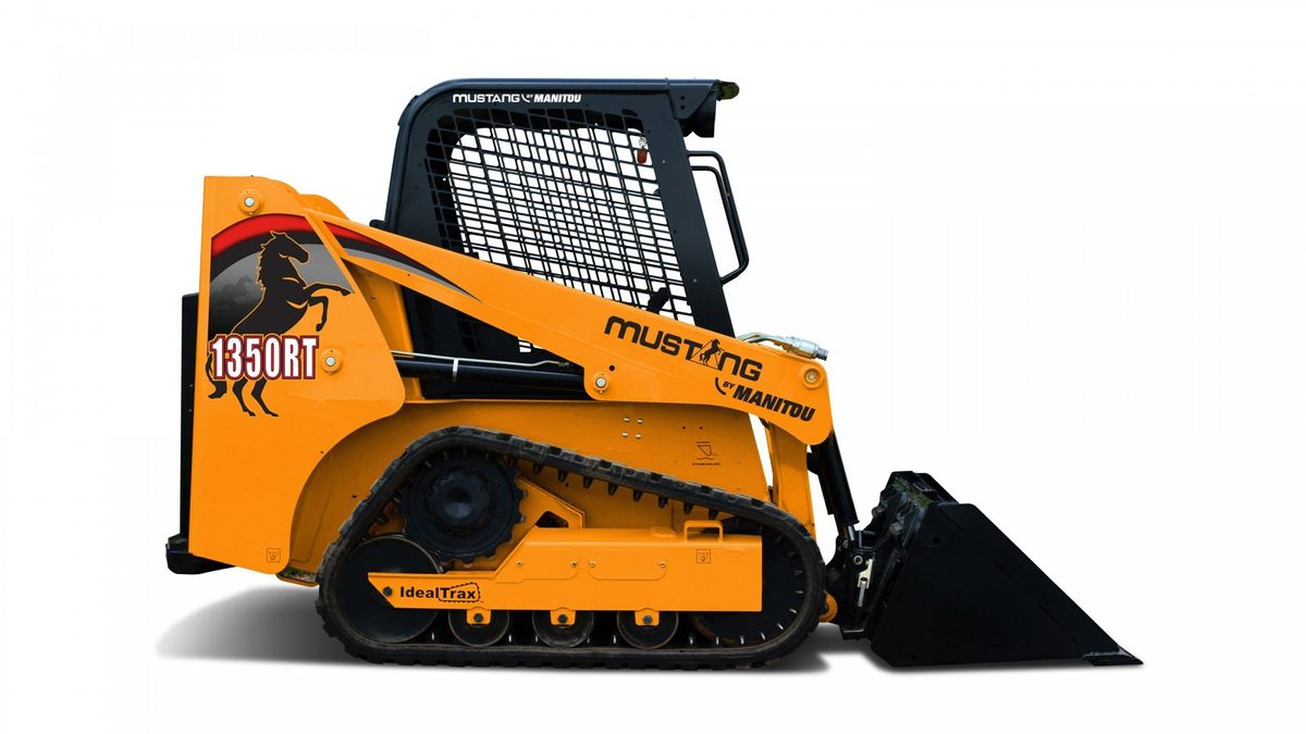 Mustang by Manitou Small-Frame Compact Track Loader is Ideal for Confined Jobsites