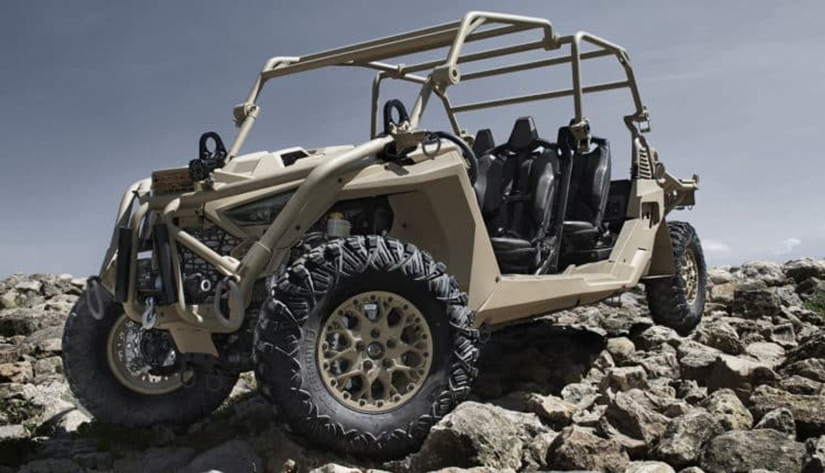 New Polaris Defense MRZR Alpha Tactical UTV!