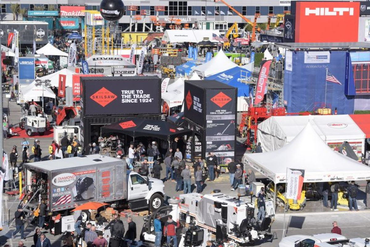 World of Concrete 2020: More than 60,000 Expected to Attend Show Feb. 4-7. Here's What You Need to Know.