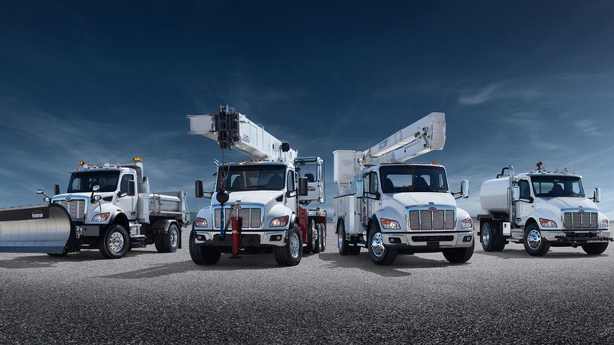 Peterbilt Unveils New Medium-Duty Line