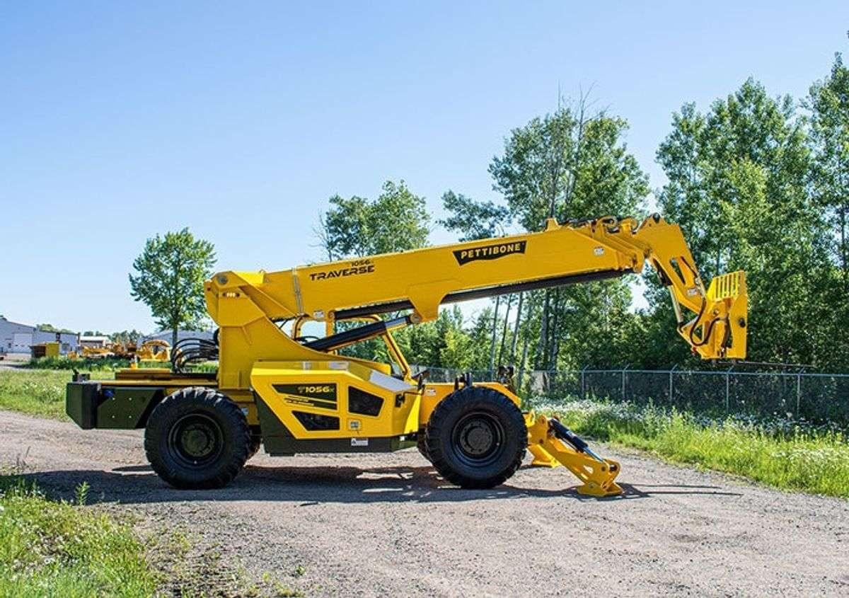 Pettibone Intros New T1056X Sliding-Boom Telehandler with 5-Ton Capacity