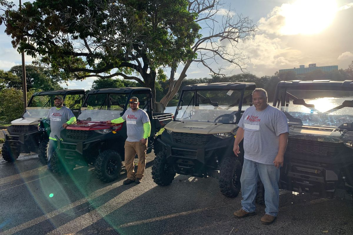 Ranger Supports Recovery Efforts in Bahamas