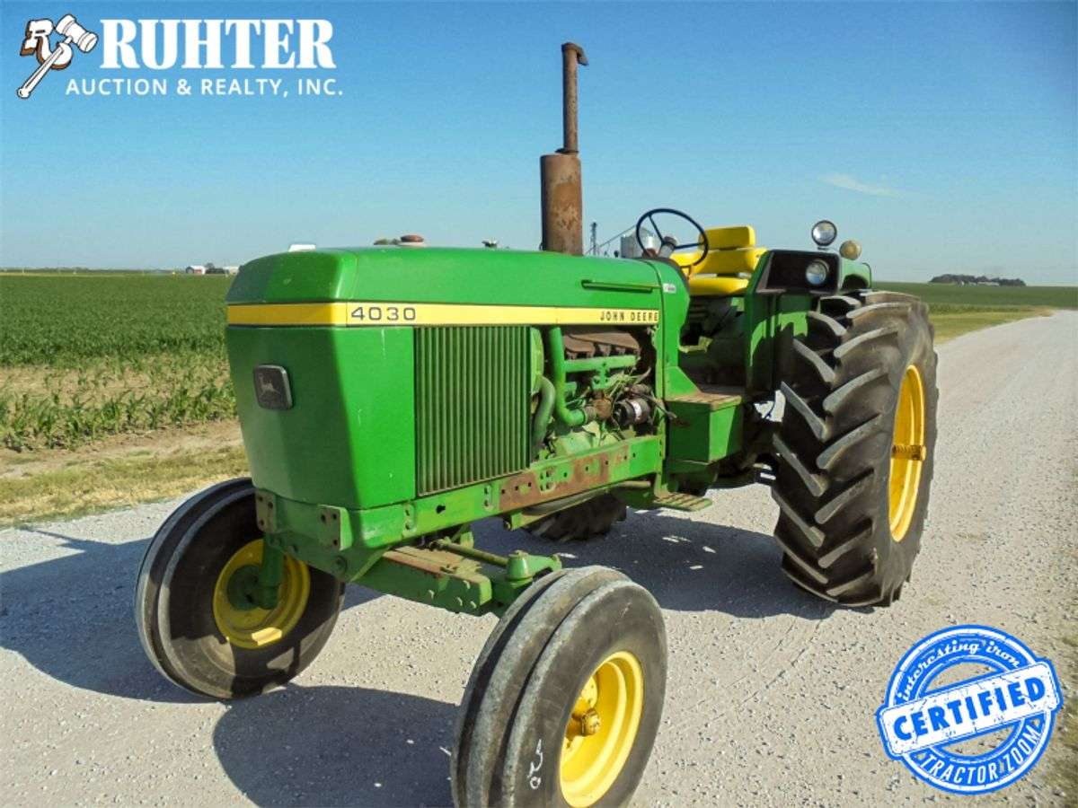 Rare Deere 4030s Selling In Nebraska