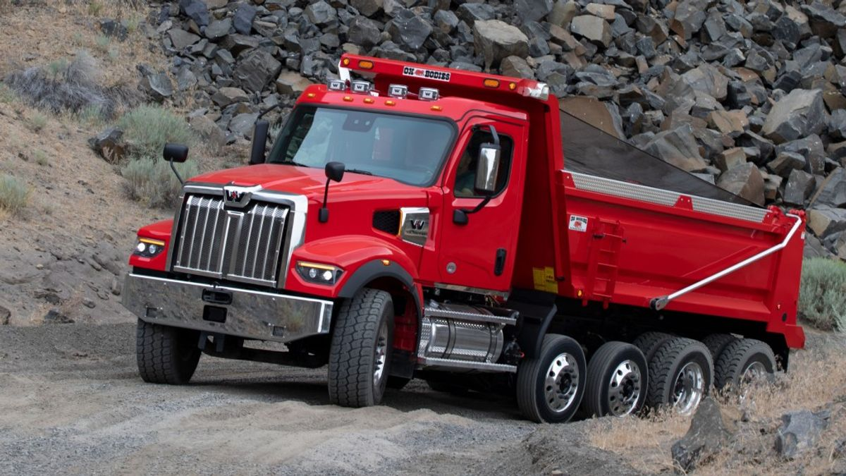 Rugged Performance And Power combine As Western Star launches New 49X Vcational Truck
