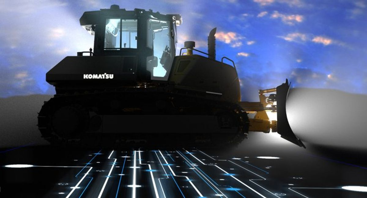 Smart Construction: Komatsu's Vision of the Jobsite is Becoming a Reality