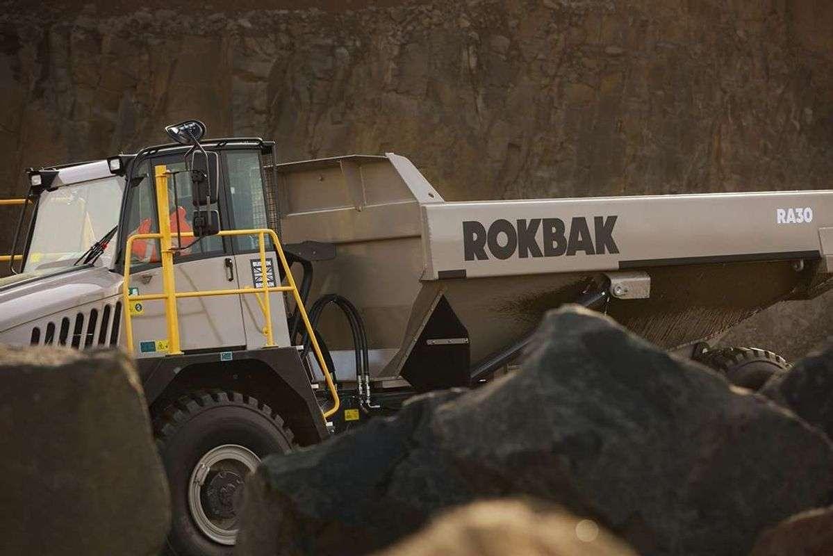 Terex Trucks Rebranded as Rokbak