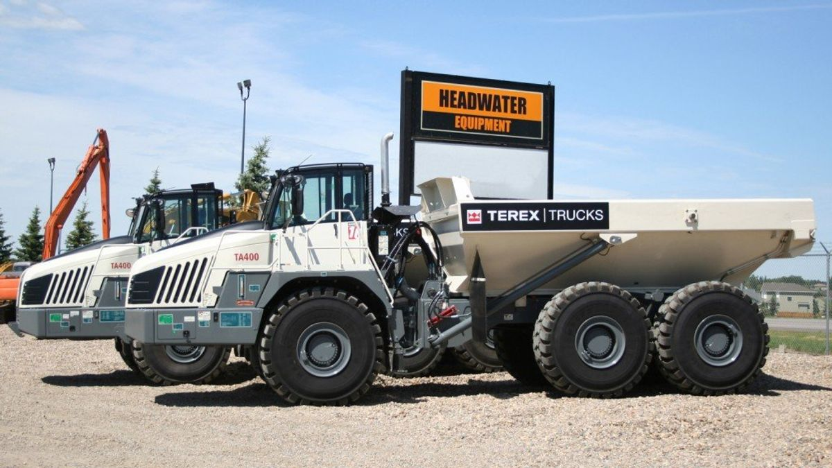 Terex Trucks Signs Headwater Equipment Sales As New Canadian Dealer