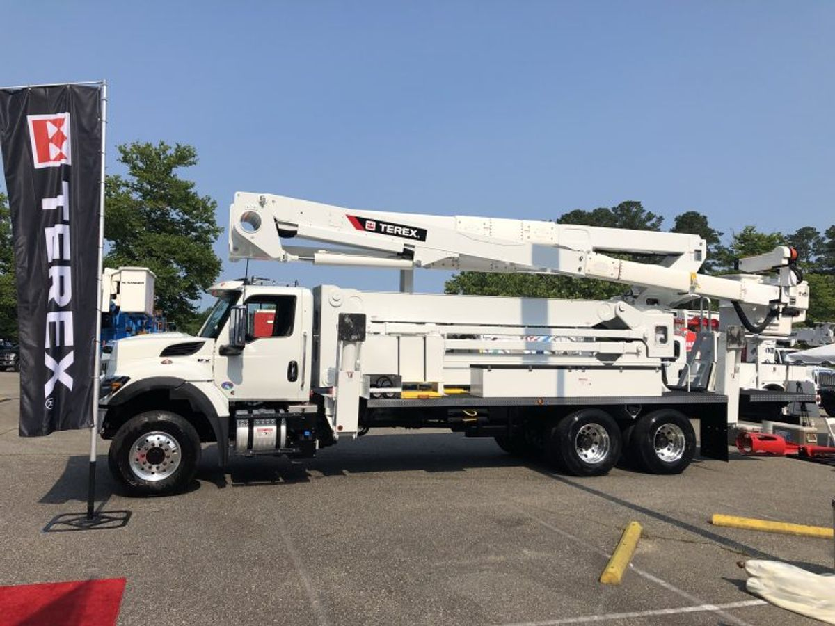 Terex Utilities Intros TL Series Aerial Devices with Lower GVW
