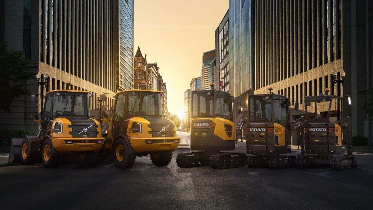 Volvo CE To Introduce Three More Electric Machines In 2022
