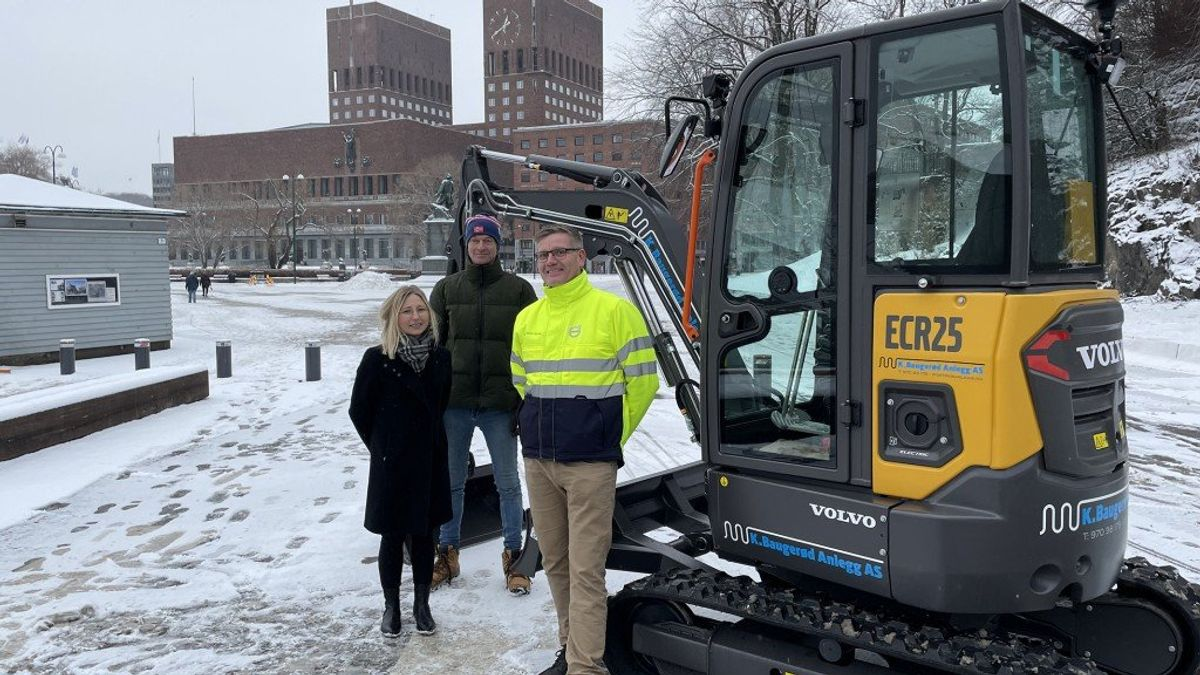 Volvo Delivers First Electric Compact Machines To Customers From Bauma 2019