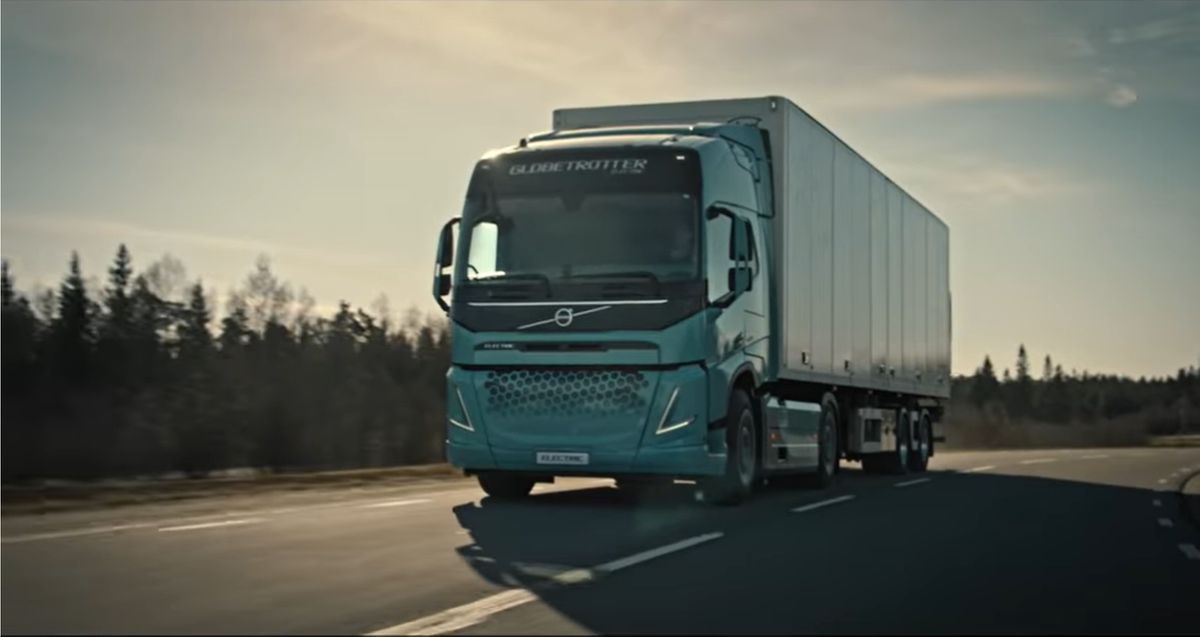 Volvo Unveils Electric Vocational Truck Concept